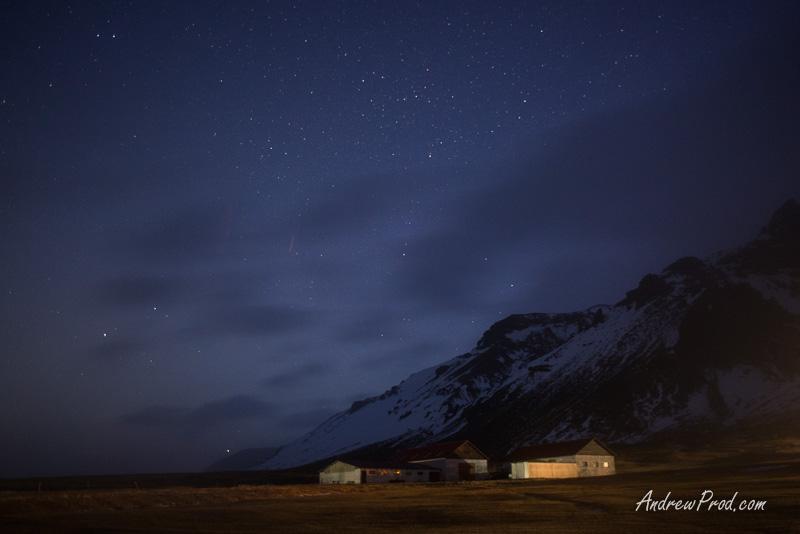 Travel Photographer Iceland stars-68