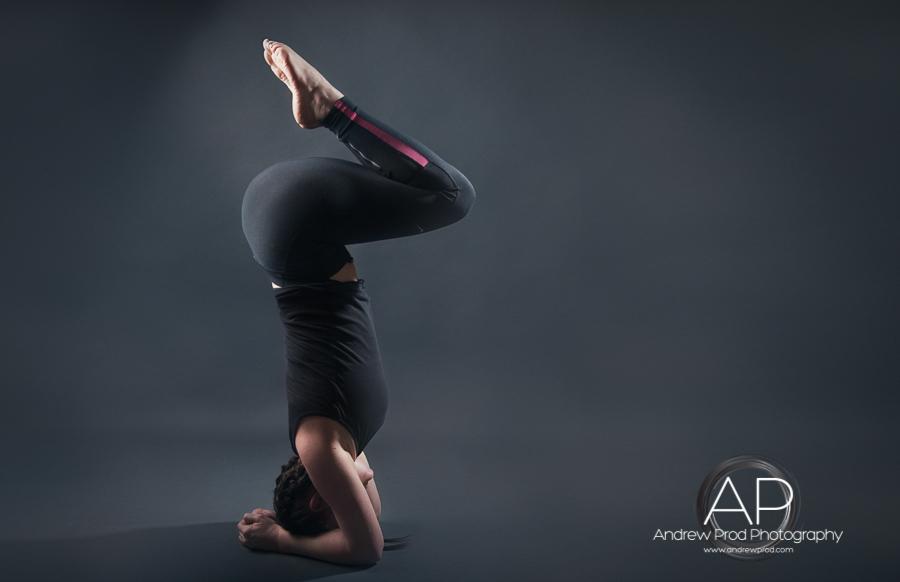 yoga fitness photoshoot