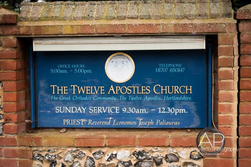The twelve apostles church