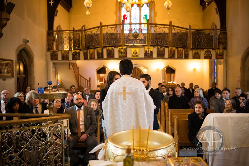 Greek orthodox christening london