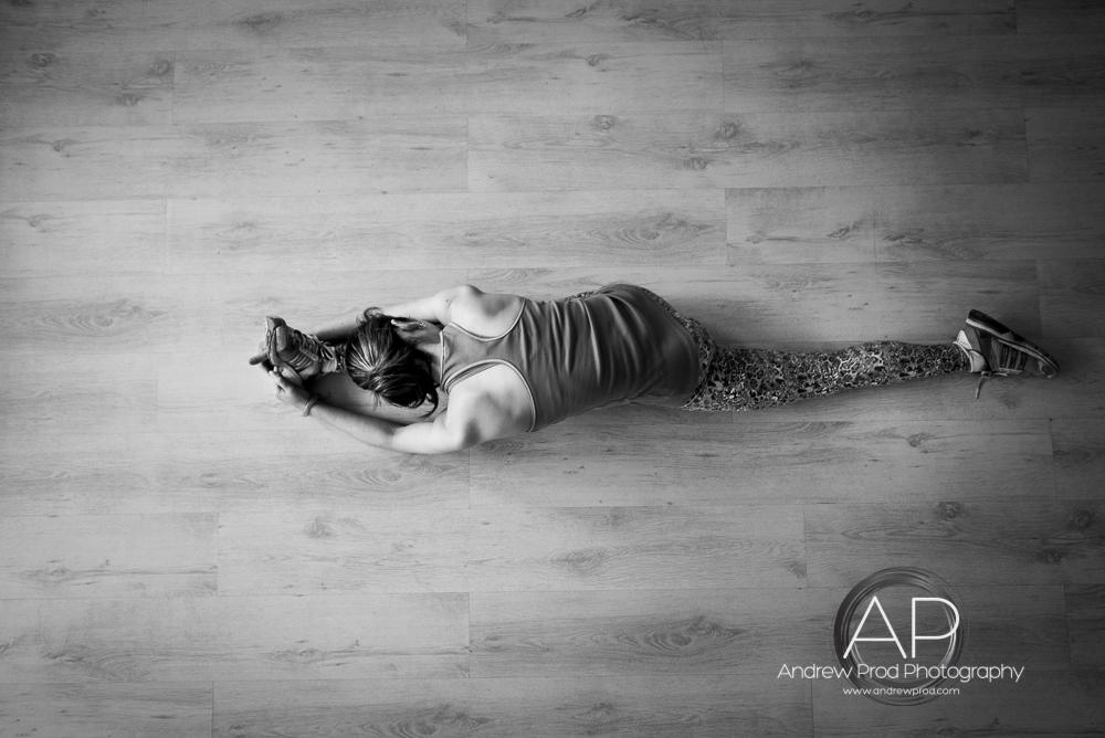 Yoga pose London photographer