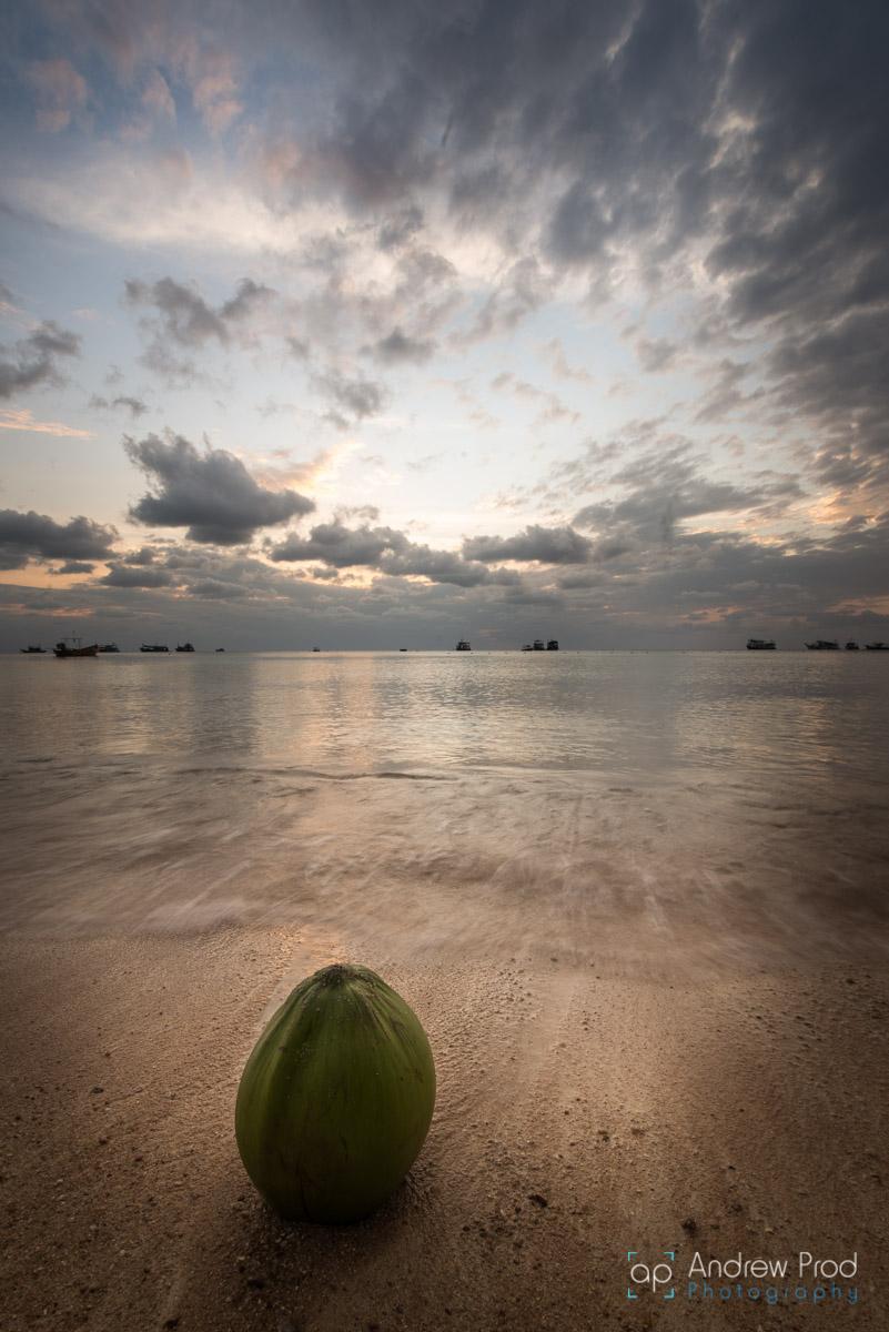 Sairee Beach coconut