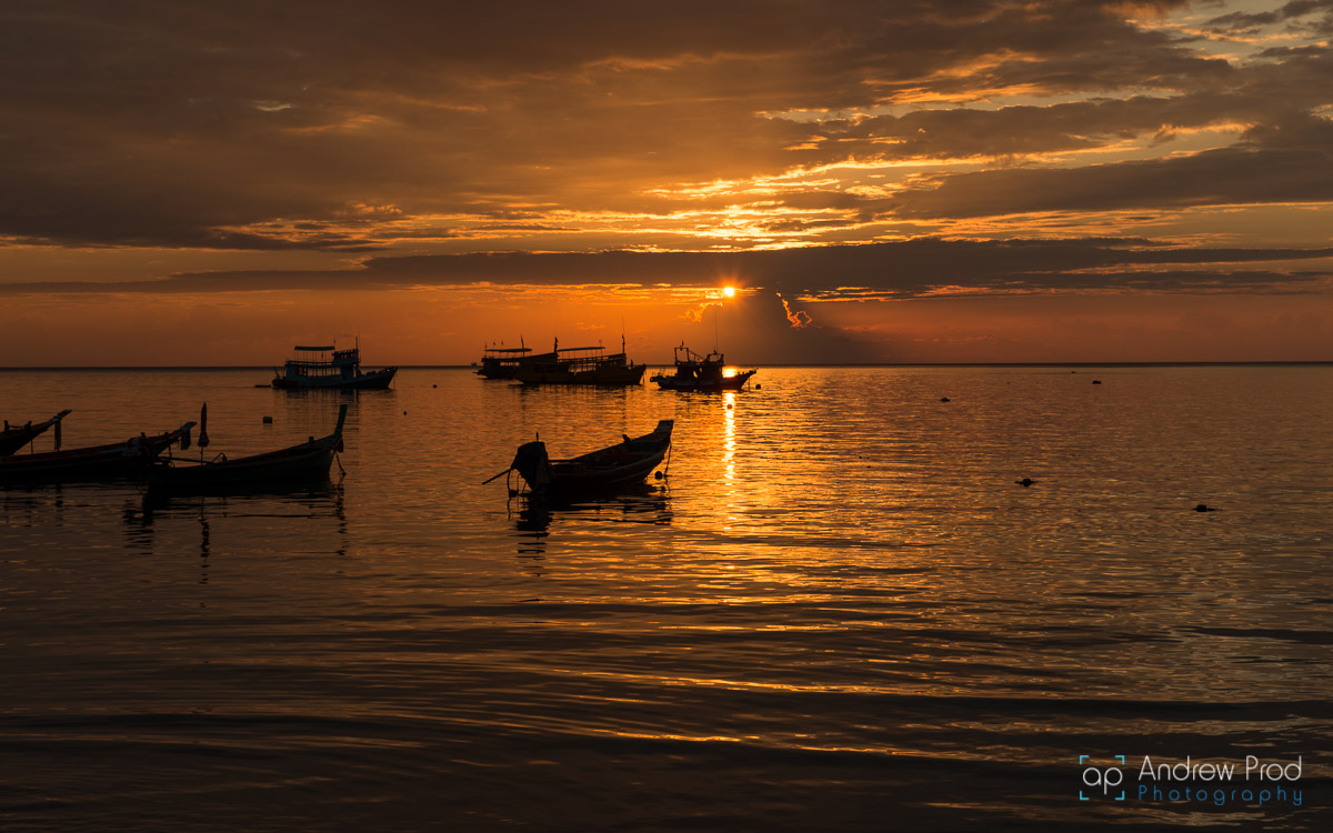Sairee_Beach_sunset